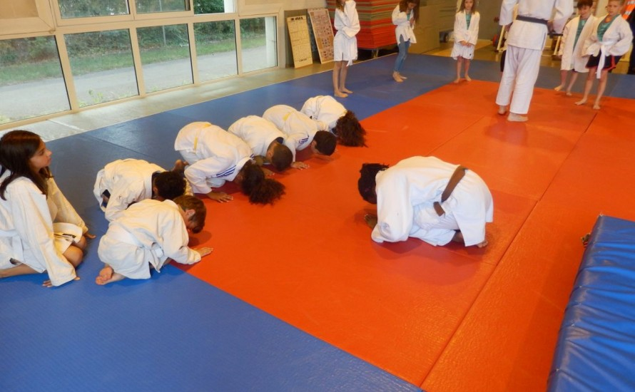 Une journée Olympique réussit au Budokan !