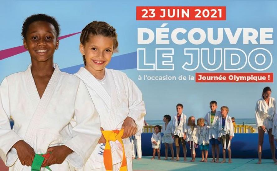 Découvre le Judo à l'occasion de la Journée Olympique
