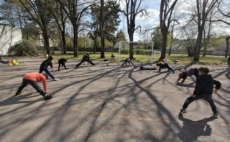 La pratique du Judo se poursuit en extérieur au BUDOKAN CHALONNAIS